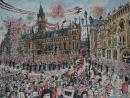 Man U Treble Celebrations, Albert Square 1999