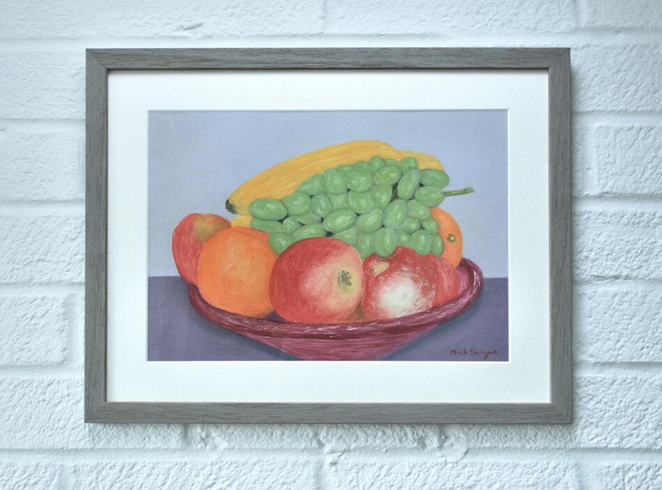 Shallow Fruit Bowl...hanging
