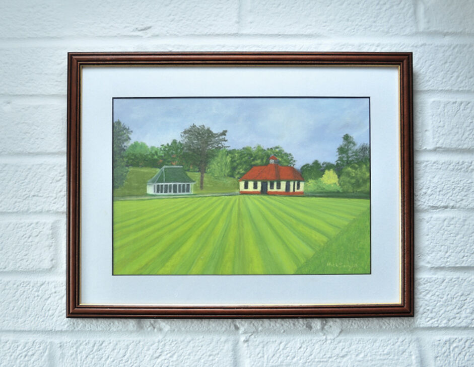 'The Bowling Green'....framed