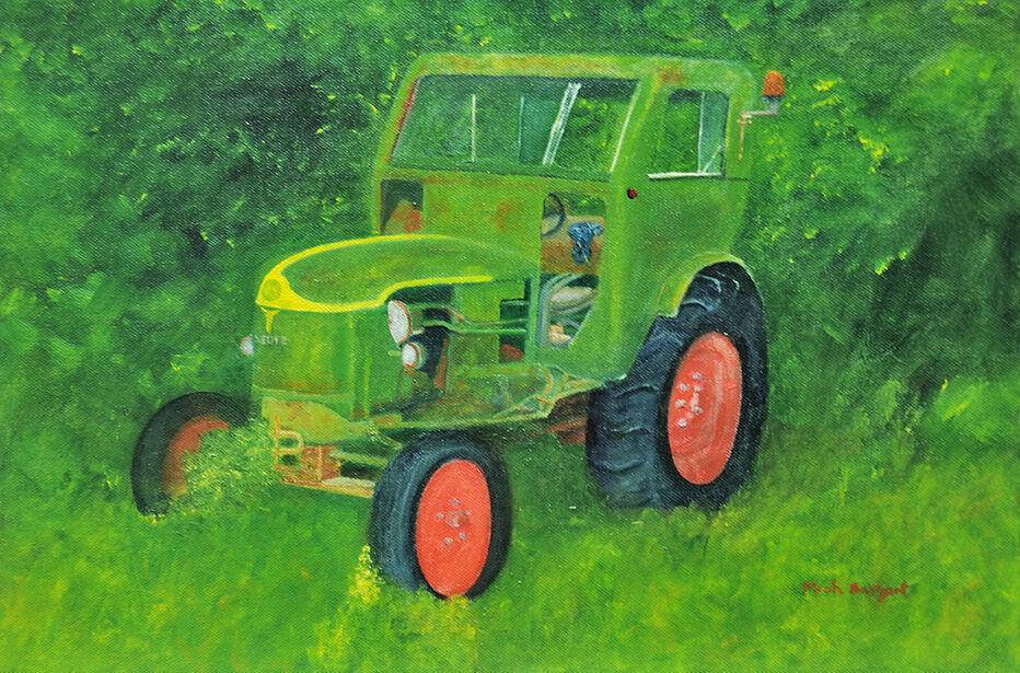 Neglected Deutz Tractor
