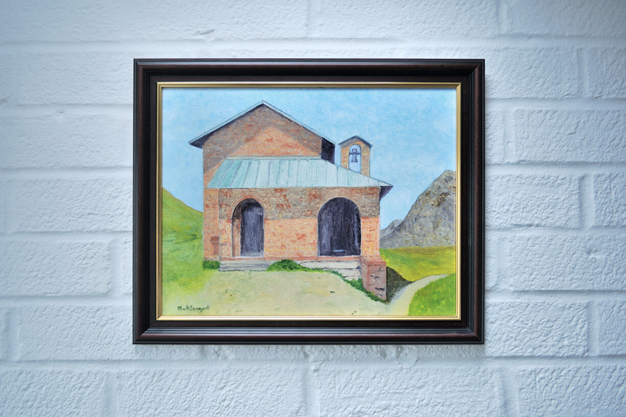 Chapel on the Gavia Pass