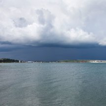 Storm Clouds over Sandown