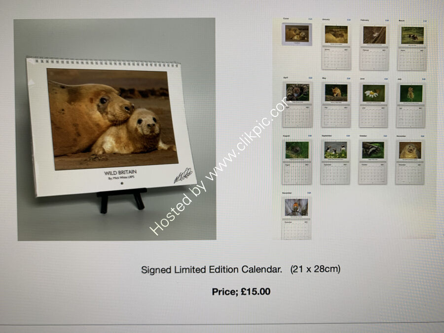 Limited Edition Calendar