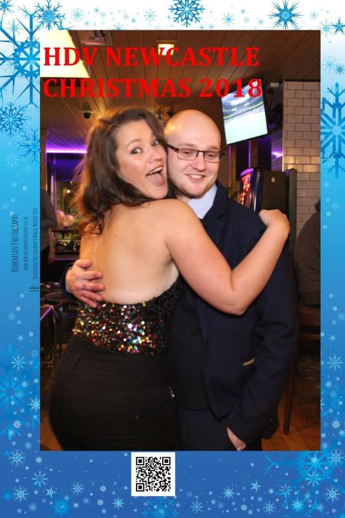 Newcastle Hotel Duvin Christmas Party at Akenside Traders,magic mirror Hire by Bohemian Photography for parties weddings and all events