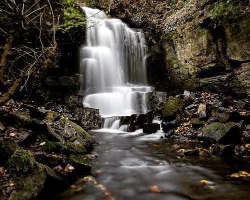 Harmby Waterfall Long Expo