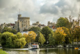 Windsor Castle  from the Brocas, Eton