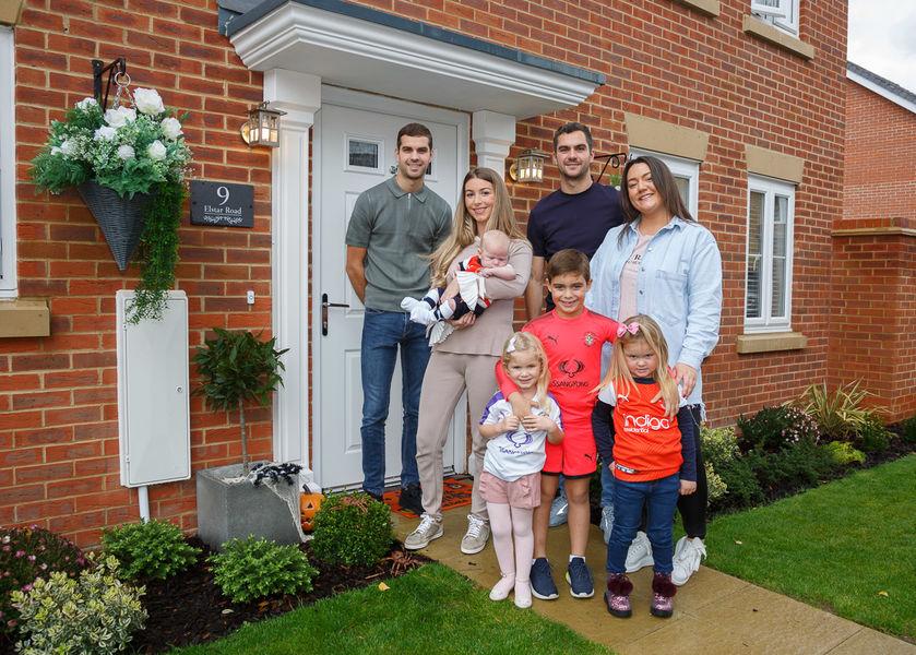 Family Case Study Portrait<br>Bovis Homes