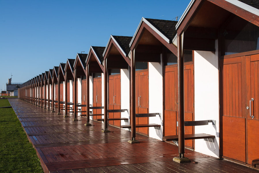 Beach huts<br> Bridlington