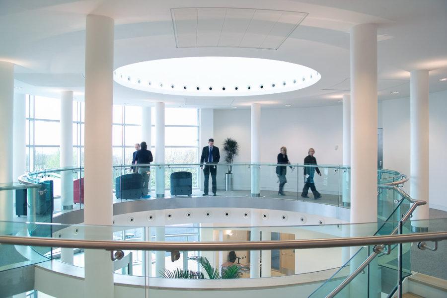 Atrium<br>The Nucleus<br>Chesterford Research Park