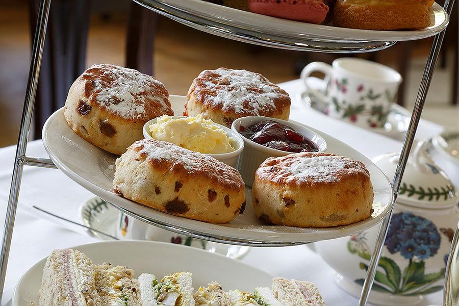 Afternoon Tea<br>Rectory Farm Hotel<br>Cambridge