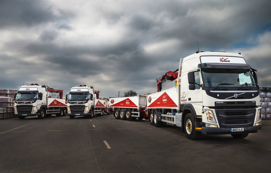 Truck Fleet<br> Redland Monier<br>South Cerney