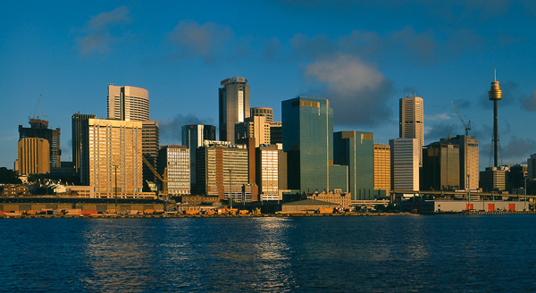 Sydney Harbour Skyline<br><br> Australia