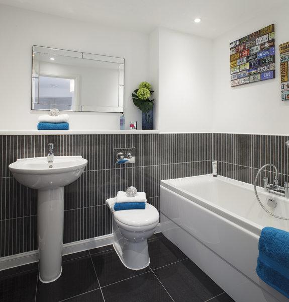 Bathroom<br>Bovis Homes<br>Leavesden