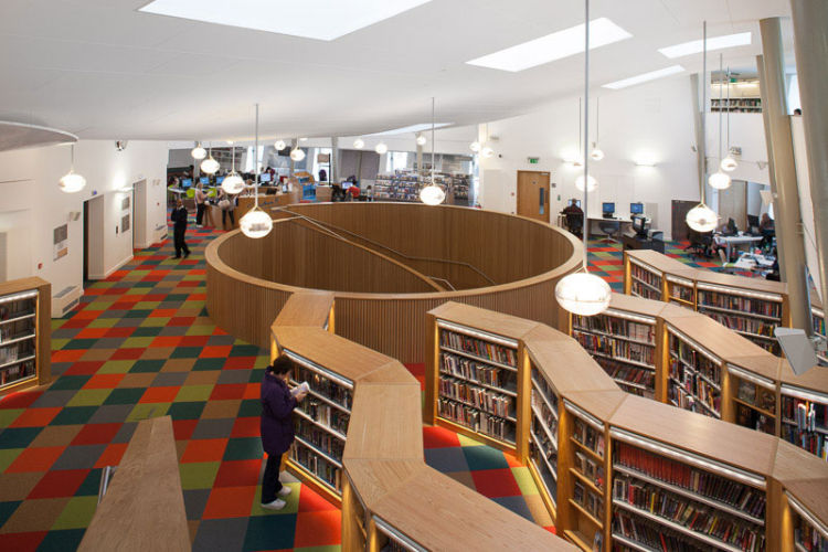 Canada Water Library<br>Arts Council England