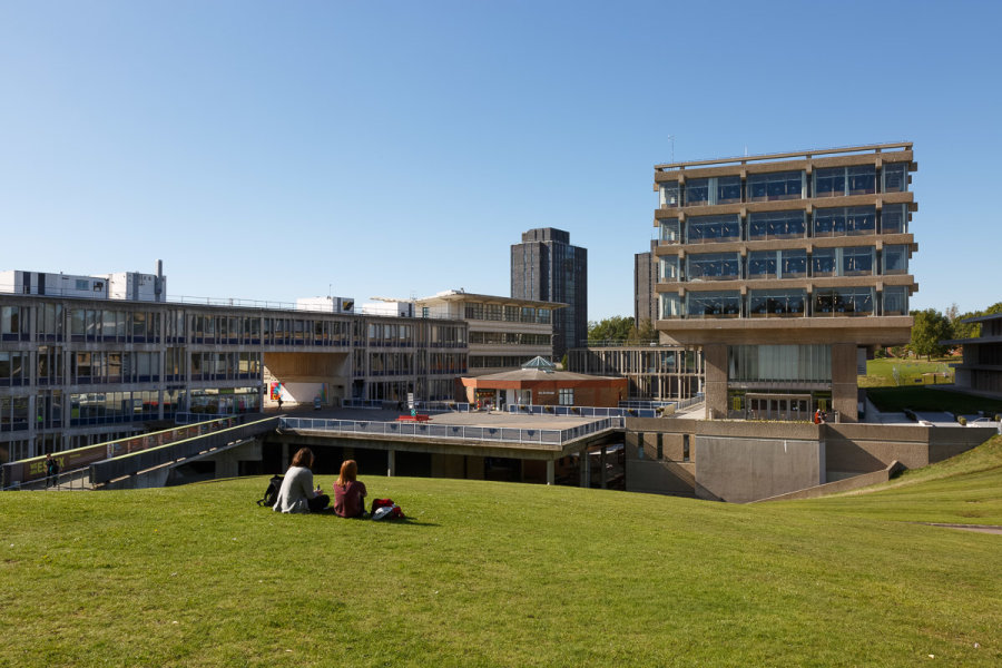 University of Essex, Colchester <br>Purcell Miller Tritton<br>Architects