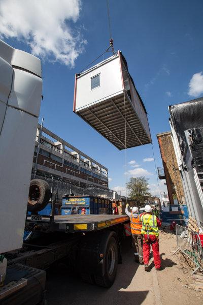 Crane Building Unit<br>Kings College Hospital<br>London