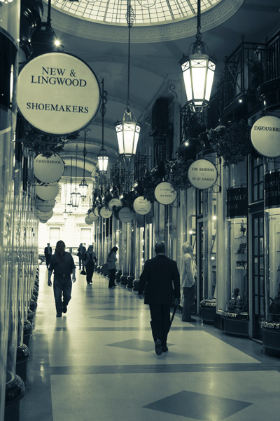 Burlington Arcade<br><br> London