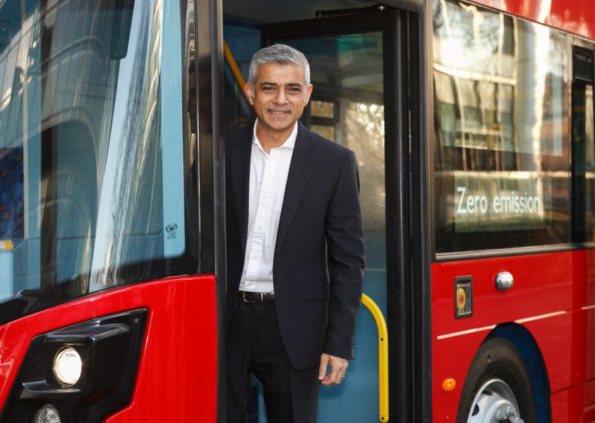 Mayor of London Sadiq Khan<br>City Hall London