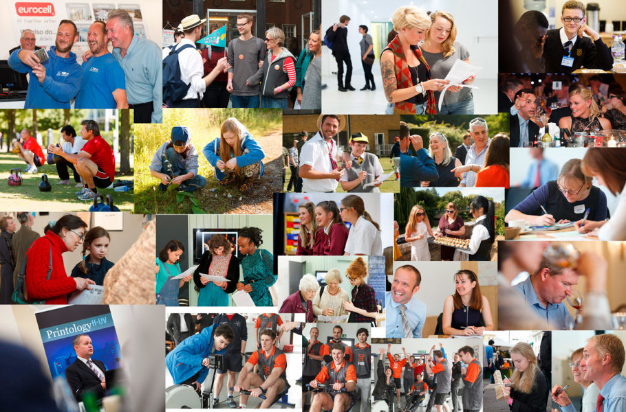 Event Montage<br>A selection of reportage style event images