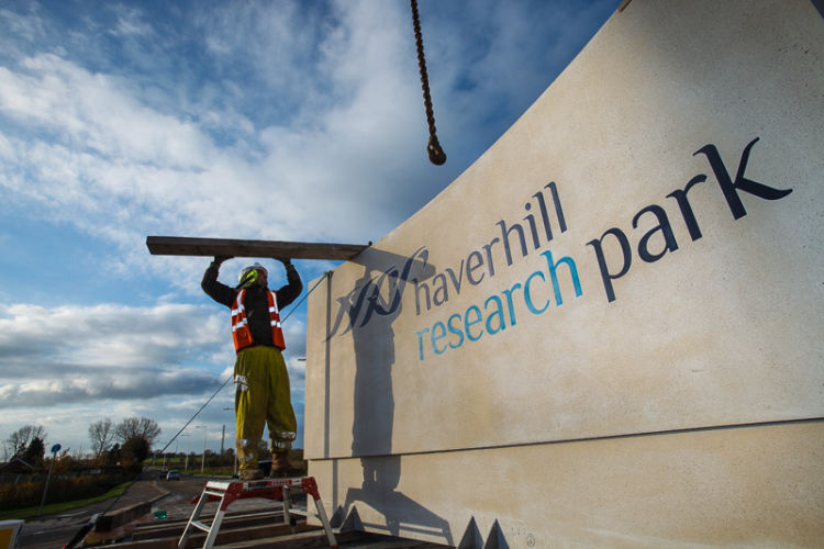 Haverhill Research Park<br>Sign Installation