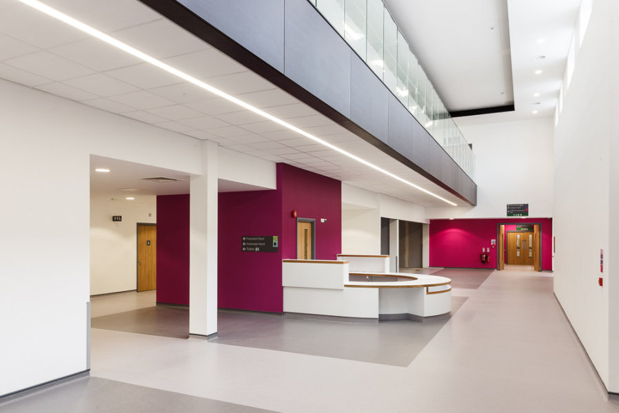 Princess Royal Hospital<br>Telford<br>Knauf Drywall