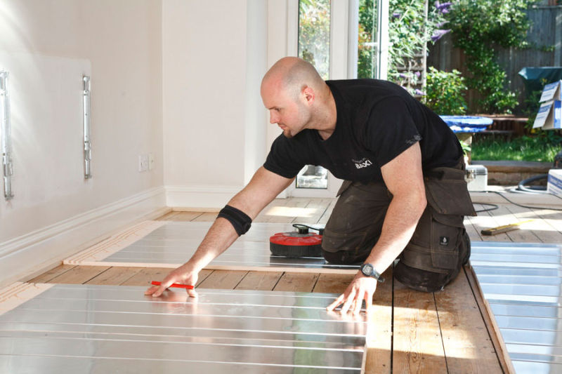 Underfloor Heating Installation<br>Wavin UK