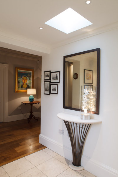Hallway Detail <br>Cambridge<br>Julie Maclean Interior Design