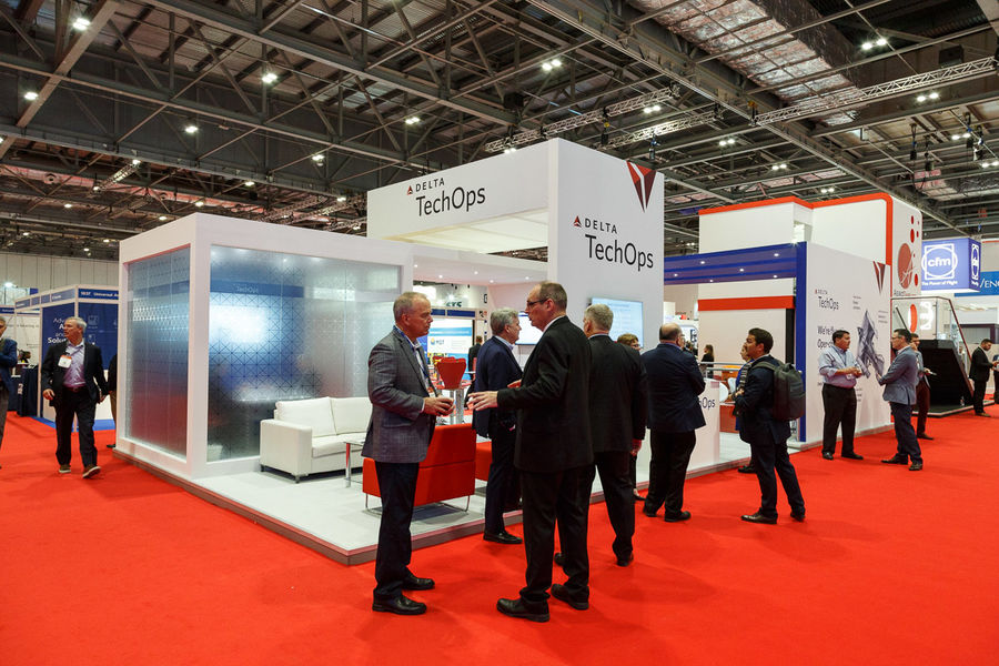 MRO Exhibition<br>Delta TechOps<br>London Excel
