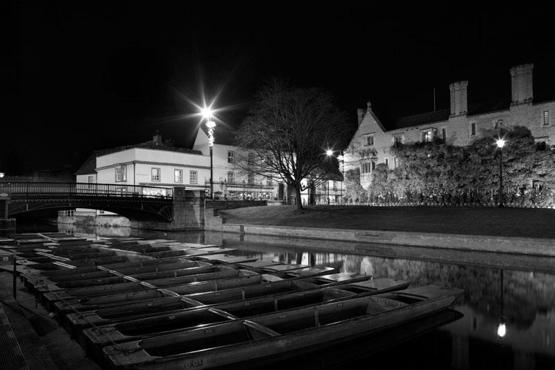Magdalene Bridge and Punts