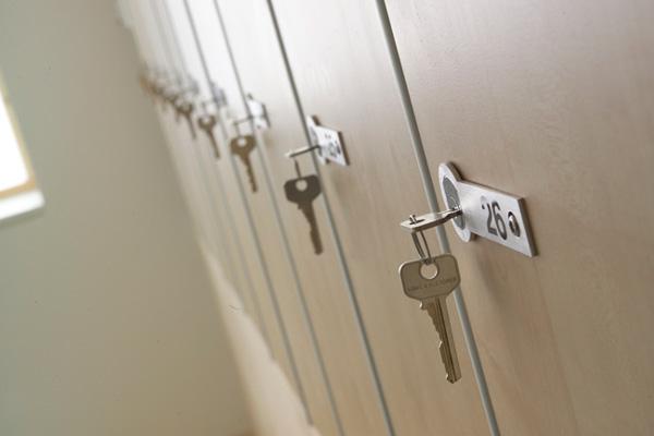 Gym Locker Doors<br>The Nucleus