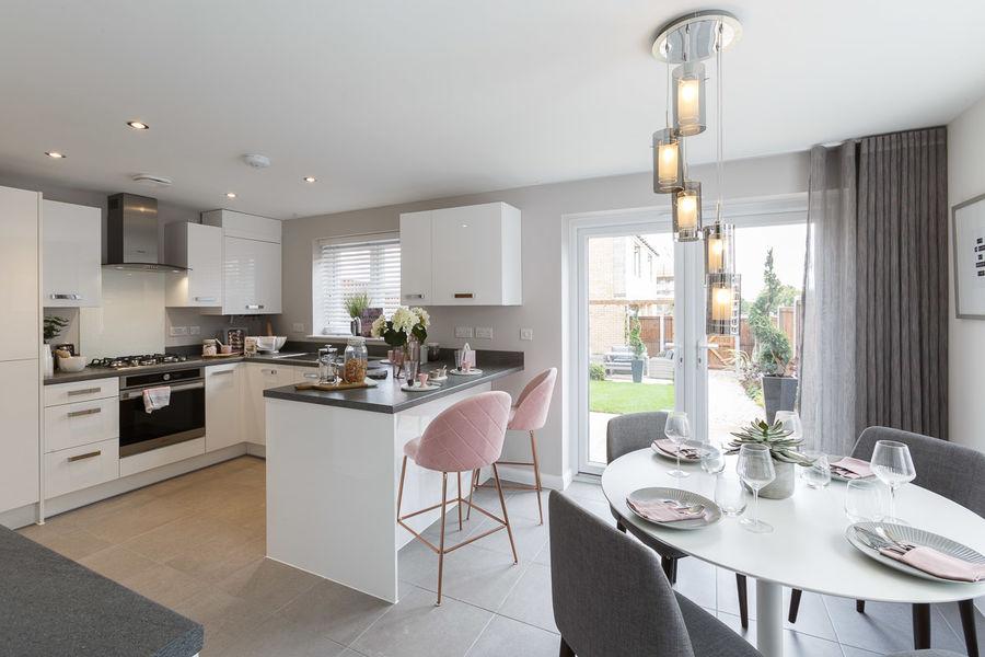 Kitchen<br>Stortford fields<br>Bovis Homes