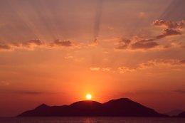 Sunset at Olu Deniz