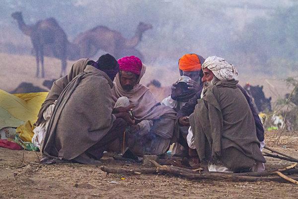 campfire pushkar