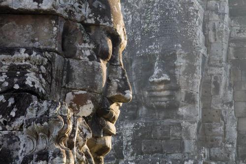 stony faced the bayon ankor thom