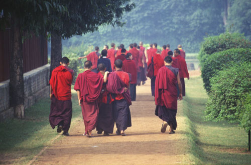 bhuddist monks