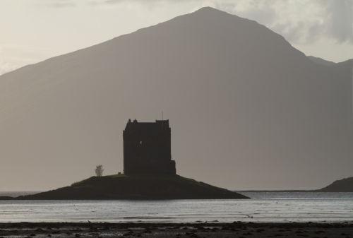 castle stalker silhouette
