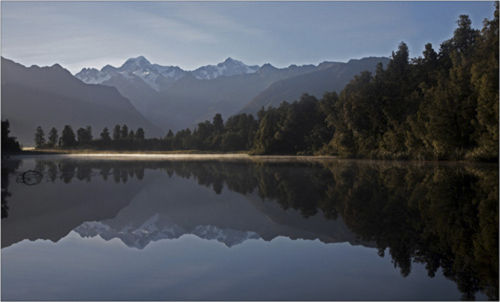 lake matheson south island