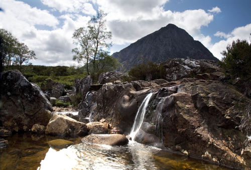 mountain stream glencoe