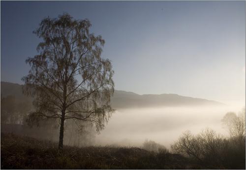 trossachs morning