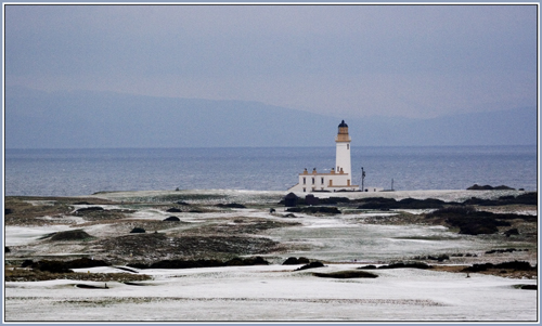 turnberry lighthouse in winter