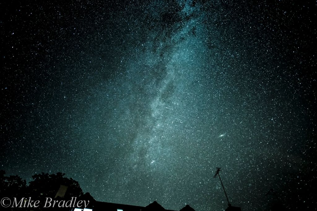 Milky Way Over Stable Cottage-