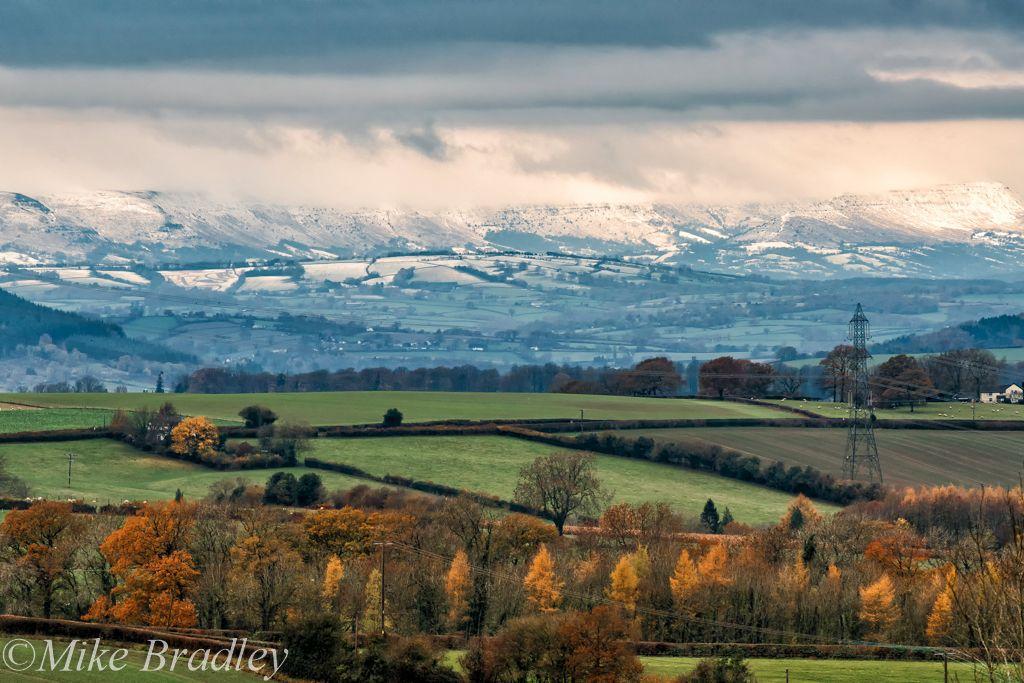 Snow on the Mountains-