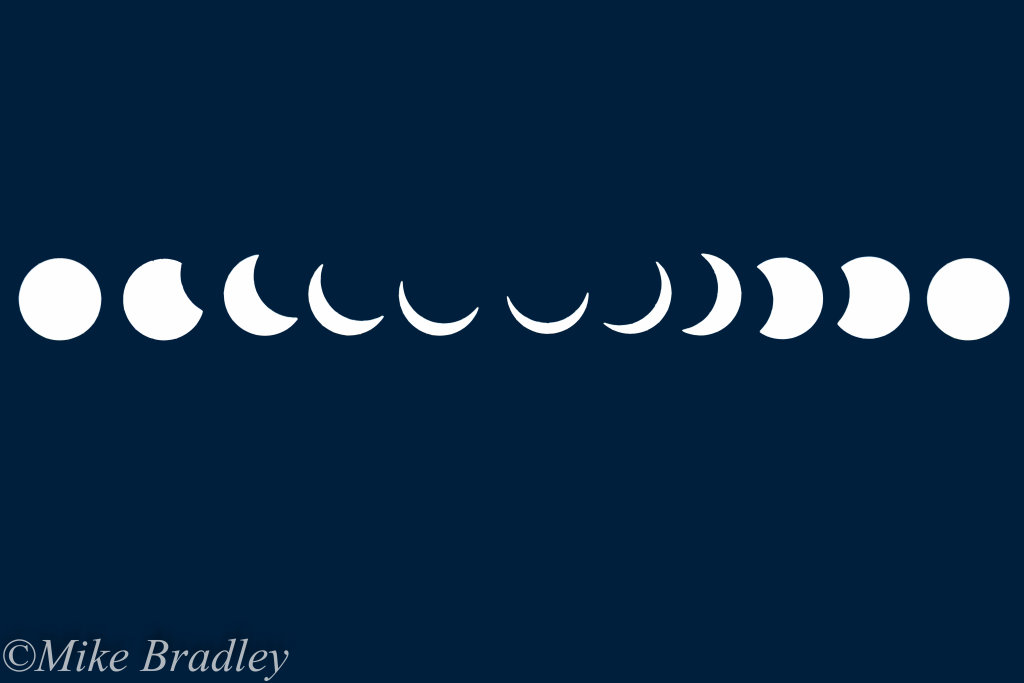 Near Total Solar Eclipse