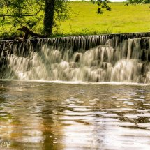 Weir on the Garron