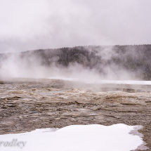 Steaming Landscape