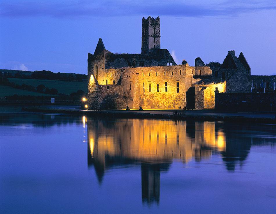 Timoleague Abbey, West Cork - Evening