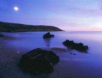 Moonrise, Dunworley, West Cork