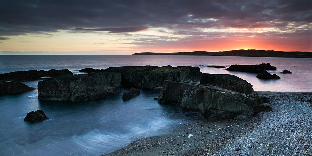Nuns cove sunset, Clonakilty, West Cork