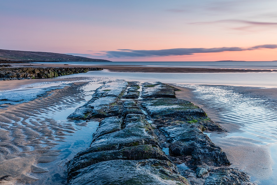 Sunset, Fanore beach, County Clare