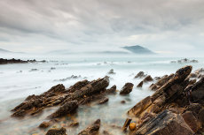 Misty evening, Pollan strand, Inishowen, County Donegal